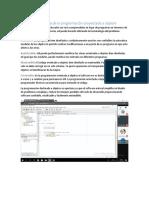 Beneficio de y Meta Da La Programación Proyectada a Objetos