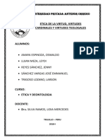 Etica de La Virtud Informe Final