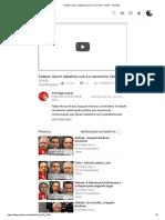 Debate_ Quem Sabatina Lula é o Carcereiro, Gleisi - YouTube