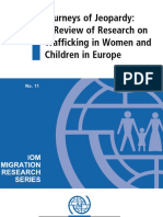 A Review of Research on Trafficking in Women and Children in Europe