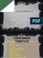 Clases de constitucion de empresas