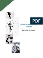 Manual de La Administracion Del Tiempo.