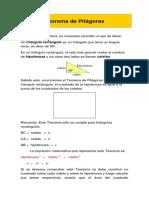 8 Basico Teorema de Pitagoras