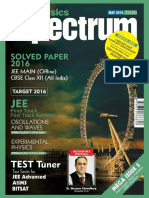 Spectrum Physics - May 2016