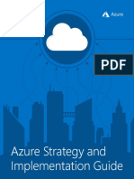 Azure Strategic Implementation Guide for IT Organizations