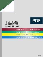 RS485 Mini Eco Multi Mega Manuale