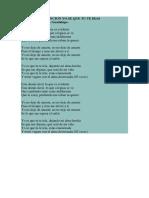 Letra de La Cancion Yo Se Que Tu Te Iras