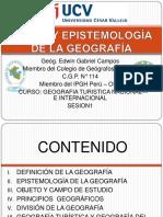 Epistemologia de La Geografia