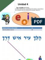 Unidad 4 Hebreo Bíblico IBN