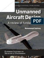 (SYNTHESIS LECTURES on MECHANICAL ENGINEERING, #04) Mohammad Sadraey-Unmanned Aircraft Design_ a Review of Fundamentals-Morgan & Claypool Publishers (2017)