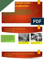 Acero Estructural Como Un Método Constructivo [Autoguardado].pdf