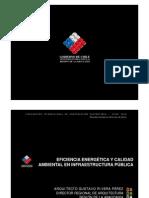 Eficiencia Energetic A y Calidad Ambiental en Infraestructura Publica Gustavo Rivera