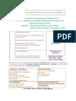 Calendar for Distance  Education.doc