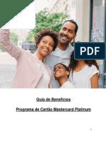 Guia de Beneficios Platinum Mastercard