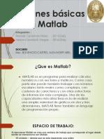 Funciones Básicas en Matlab