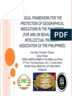 10 - Leny Villareal - 2 Legal Framework for GI Protection in The