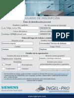 Formulario Siemens Presencial