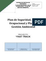 Plan de Seguridad, Salud Ocupacional