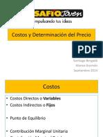 DesafioJoven 2014 Charla 6 Costos y Precios Cashflow