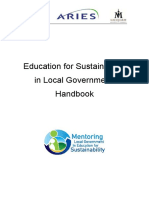 Aries - Education for Sustainability Local Gov Handbook