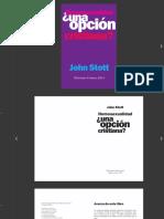 Homosexualidad, Una opcion cristiana - John Stott.pdf