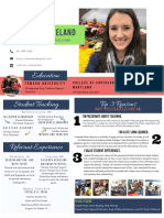 kristin cleaveland - creative resume