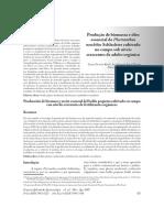 Produção de Biomassa e Óleo Essencial de Plectranthus Neochilus Schlechter Cultivado No Campo Sob Níveis Crescentes de Adubo Orgânico