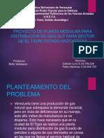 Proyecto de Planta Modular Para Distribucion de Gas