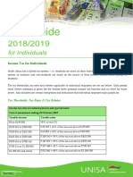 TAX Guide 2018 2019 for Individuals