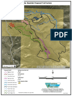 Proposed Trail System on Cedar Mountain