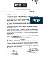 Resulucion MTSS- Ambito Tripartito-Paysandu