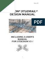 Studrail Design Manual2