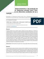 Avaliação Do Desenvolvimento e Da Produção de Flavonoides de Kalanchoe