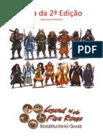 A Lenda Dos Cinco Anéis 2E - Guia Da 2ª Edição