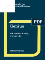 Genius_The Natural History of Creativety [Eysenck, Hans J.]