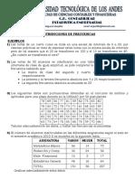 Ficha de Distribucion de Frecuencias