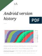 Android version history - Wikipedia.pdf
