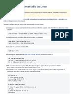 Starting JIRA Automatically on Linux - Atlassian Documentation