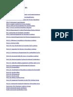 Lista de Normativa ISA