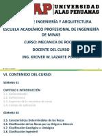 Semana 02 Mecanica de Rocas i - Cap-i Introducción Part-1