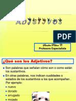 Adjetivo 5° básico