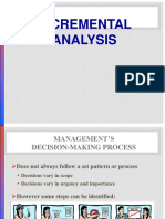 Incremental Analysis