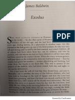 Exodus by James Baldwin