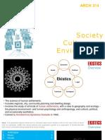 Soeity,Culture & Environment