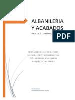 Albañilería de Ladrillos y Bloques