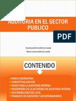 Auditoria en El Sector Publico