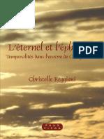 (Faux titre 358) Perec_ Zeitlichkeit_ Reggiani, Christelle_ Perec, Georges-L' éternel et l'éphémère _ temporalités dans l'œuvre de Georges Perec-Rodopi (2010).pdf