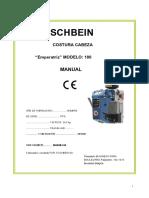 Cosedora Pedestral Manual FISCHBEIN 100 Gb 05-2009.en.es