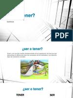 DIAPO SER O TENER(1)