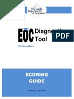 scoring guide math i aug 1 2016  1